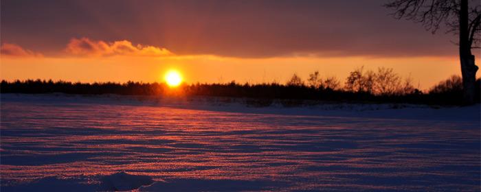 Lipowski zachód słońca